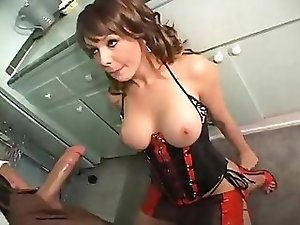 Tranny Danielle Foxxx Gets Drilled